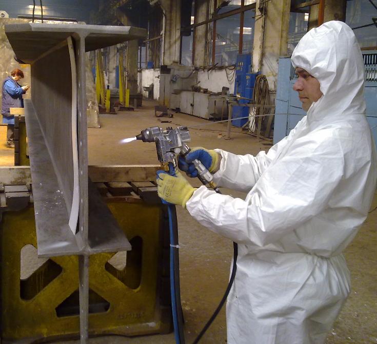 Metalizare prin pulverizare la cald 3